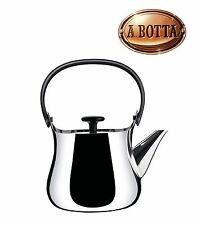 Tea Kettle Teapot ALESSI Cha NF01 in 18/10 Stainless Steel - 90 Cl Induction Hob