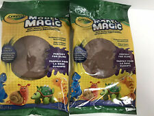 Lot of 2 Crayola Model Magic 4oz EarthTone soft squishy easy to shape crafts