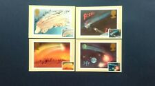 1986 APPEARANCE OF HALLEY'S COMET PHQ CARDS WITH A NORTH DEVON FIRST DAY C.D.S