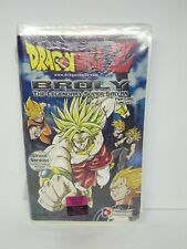 Brand New Sealed DragonBall Z BROLY The Legendary Super Saiyan VHS Movie UNCUT