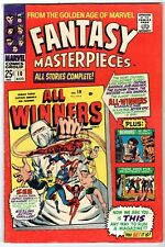 Fantasy Masterpieces #10 Featuring Cap, Subby & Human Torch, F-VF Condition