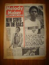 MELODY MAKER 1978 SEP 9 STIFFS STEEL PULSE THE MOTORS