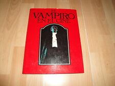 EL VAMPIRO EN EL CINE DE DAVID PIRIE LIBRO PRIMERA EDICION AÑO 1977 BUEN ESTADO