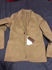Michael Kors Men's Ivy Green Cotton-Twill Garment Dye Sport Coat Blazer Size 38R