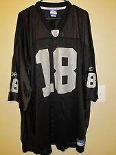 Randy Moss - Oakland Raiders jersey - Reebok Adult 5XL