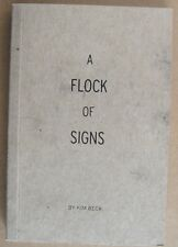 Kim Beck: A FLOCK OF SIGNS (Signed) 2014 Artist's Book