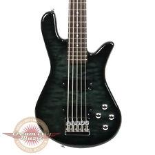 Brand New Spector Legend 5 Standard 5 String Bass in Black Stain Gloss