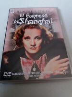 """DVD """"EL EXPRESO DE SHANGHAI """" COMO NUEVO MARLENE DIETRICH JOSEF VON STERNBERG"""
