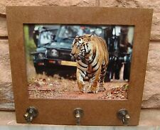TRADITIONAL BEAUTIFUL MULTIPURPOSE WOODEN CORK SHEET PHOTO FRAME WITH HOOKS 02