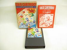 FINAL BUBBLE BOBBLE Sega Mark III Master System Gold Ref/1522 Japan Game m3