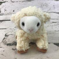 "Mini 3""-4"" Sheep Plush Cream-Colored Lamb Stuffed Animal Soft Toy"