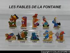 SERIE COMPLETE DE FEVES LES FABLES DE LA FONTAINE