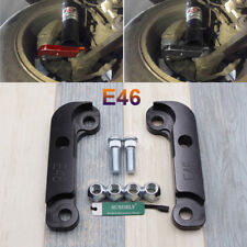 For BMW E46 M3 About 25%-30% Drift Lock Kit Adapter Increasing Turn Angles Black