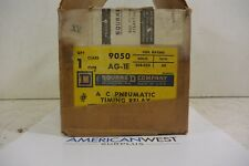 9050AG1E SQUARE D Pnematic AC Timing Relay 9050  AG-1E  208-220v NEW IN BOX
