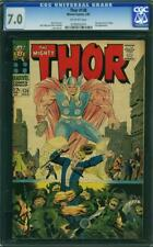 Thor 138 CGC 7.0 -- 1967 -- 1st app Ogur.  Ulik app #0199650014