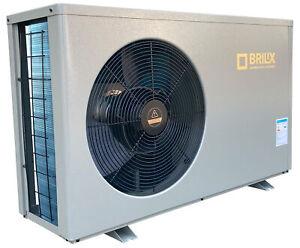 Wärmepumpe Brilix XHPFD PLUS 100 Pool Heizung 2021 NEU SOFORT LIEFERBAR