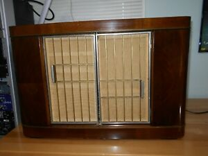 Beautiful Vintage Siemens M57 AM SW Stereo FM Tube Radio Professionally Serviced