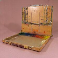 portable art easel, 11x14 easy L, pochade box, en plein air