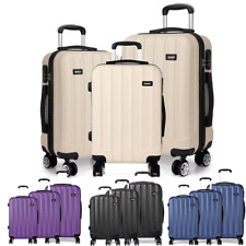 Hard Shell Cabin Suitcase 4 Wheel Luggage Trolley Case Lightweight Ryanair