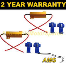 NUMBER PLATE LIGHTS LED IN-LINE CANBUS LOAD RESISTOR WARNING CANCELLERS WIRE