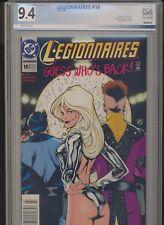 Legionnaires #16 Rare Adam Hughes Cover DC Comics 1994! PGX (Not CGC) 9.4! WOW!