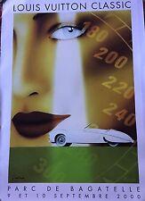 Razzia Louis Vuitton Classic Bagatelle 2000, Signed, Mounted on Linen