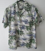 "Vintage Cherokee Waikiki Wear Tropical Hawaiian Shirt 46""-117cm M (909H)"