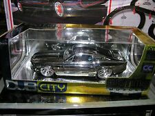 JADA Big Time Muscle, 1/18 Chrome 67 Shelby GT-500 Mustang, Very Hard to Find