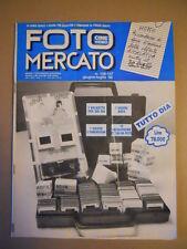 Catalogo FOTO CINE VIDEO MERCATO n°146-147 1988  [G591]