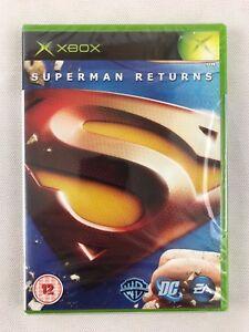 Xbox Superman Returns, UK Pal, Brand New & Microsoft Factory Sealed