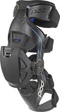 Pod MX POD K8 KNEE BRACES CARBON/BLUE S (PAIR) K8013-017-SM Small K8 Brace Set