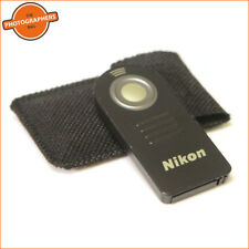 Nikon ML-L3 Remote Control & Case For Nikon D40X D80 D70 D90 D5200 D7000 Cameras