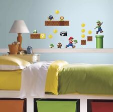 Roommates Super Mario Build-A-Scene Peel and Stick Wall Decal Appliques