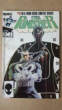 Punisher #3 (Marvel Comics) 1986 Mini Series ~ Mike Zeck ~ High Grade FN/VF