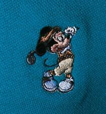 Walt Disney World Embroidered Golfing Mickey Mouse Golf/Polo Shirt Men's 4XL