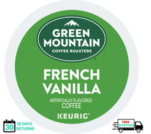 Green Mountain French Vanilla Keurig Coffee K-cups YOU PICK THE SIZE