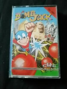 Bomb Jack - ZX Spectrum 48K/128K Elite 1986 Tested & Working  With Instructions