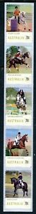 2014 Equestrian Events - Strip of 5 P&S Stamps