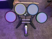 Rock Band Full Drumset. Xbox 360. Including Pedal, Dongle, And Sticks. Tested!