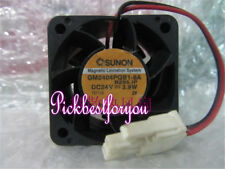 SUNON 4028 GM2404PQB1-8A fan 40*40*28mm 4CM 24V 3.9W 2Pin #M2054 QL