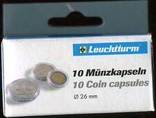 CAPSULE PER 2 EURO LEUCHTTURM- 1 CONFEZIONE- 10 CAPSULE!!