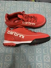 CARBRINI Kids Football Trainers Shoes Size Uk 10 Red