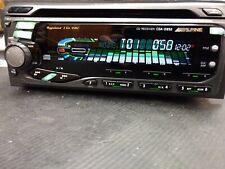 Rare Alpine CDA-D852 1.5DIn 1 Bit DAC High Quality Car Audio AUX Tested!!