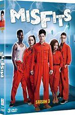 31603//MISFITS SAISON 3 COFFRET 3 DVD NEUF