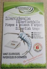 Silberfischchenfalle Falle Ungeziefer Falle Klebefalle Silberfische Falle (F113)