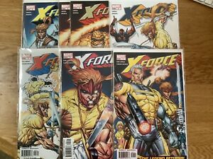 X-Force Lot #1 2 3 4 5 5 6 - VF/NM - Liefeld - Cable Domino Shatterstar