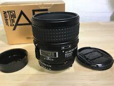 [Mint] Nikon AF D Micro Nikkor 60mm f/2.8 Macro for F100 D90 D7500 DF D850 D500