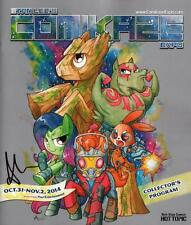 Stan Lee ComiKaze Program My Little Pony SIGNED Agnes Garbowska Guardians Galaxy