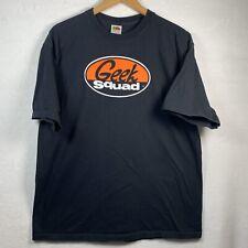 Geek Squad Mens T-shirt Size XL - EUC