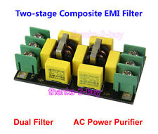 Power Purifier Board 4A EMI Filter Two-Stage Inductor Filtering For DAC Preamp